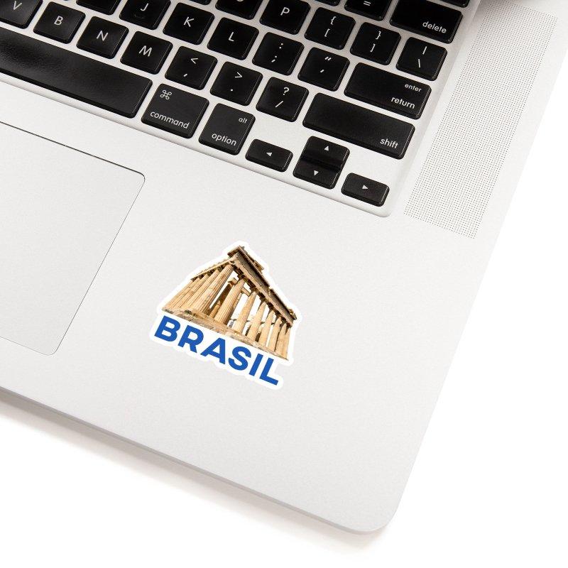 Brasil Parthenon Accessories Sticker by MaroDek's Artist Shop