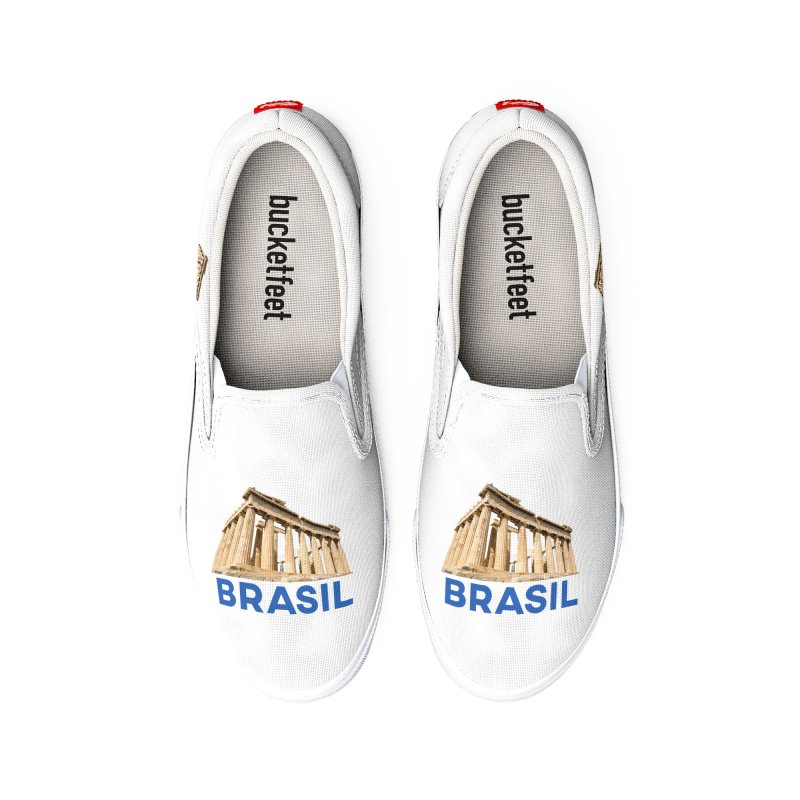 Brasil Parthenon Women's Shoes by MaroDek's Artist Shop