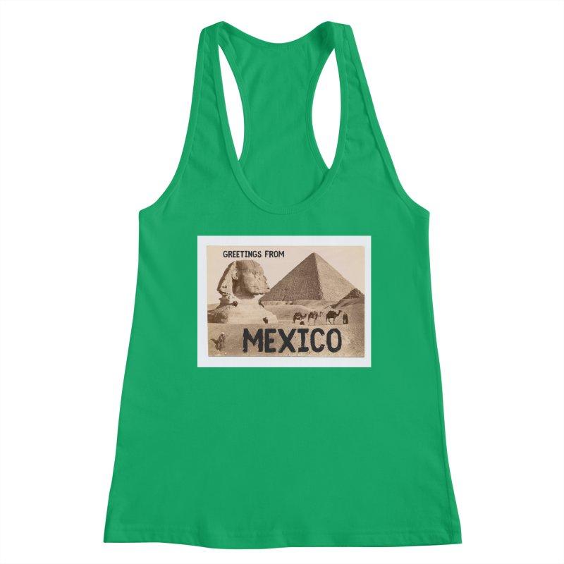 Greetings From Gizah Mexico Women's Tank by MaroDek's Artist Shop