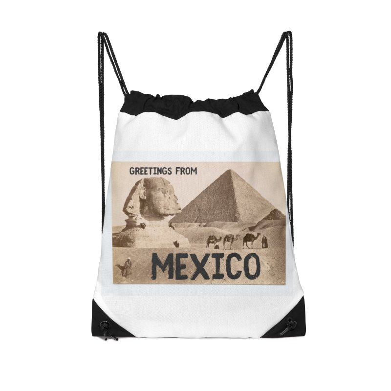 Greetings From Gizah Mexico Accessories Bag by MaroDek's Artist Shop