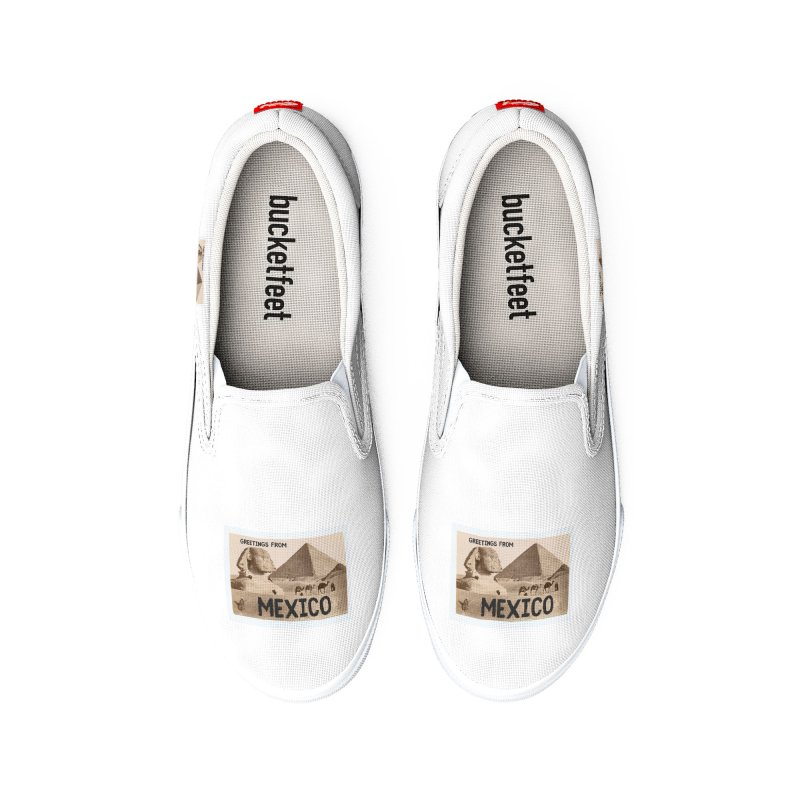 Greetings From Gizah Mexico Women's Shoes by MaroDek's Artist Shop