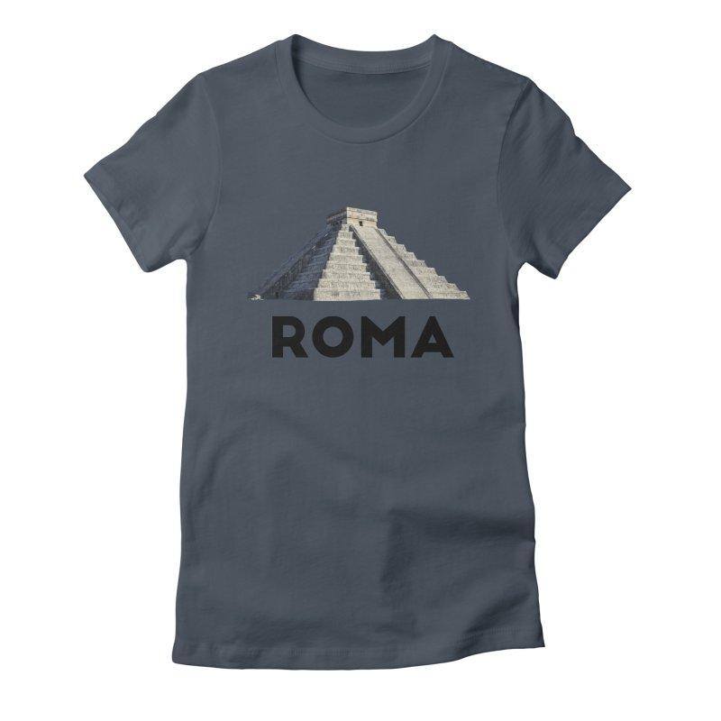 Mayan Pyramid of Rome Women's T-Shirt by MaroDek's Artist Shop