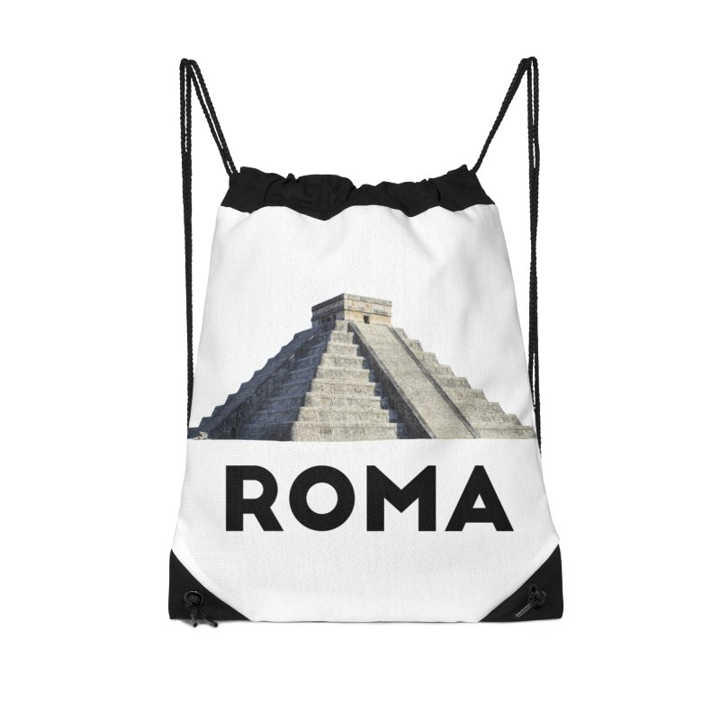 Mayan Pyramid of Rome Accessories Bag by MaroDek's Artist Shop