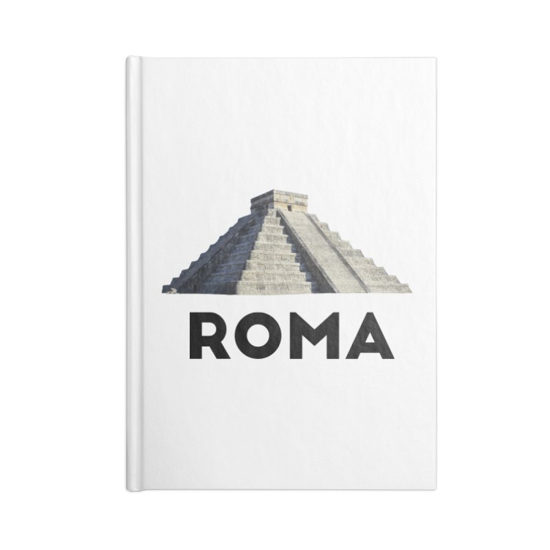Mayan Pyramid of Rome Accessories Notebook by MaroDek's Artist Shop
