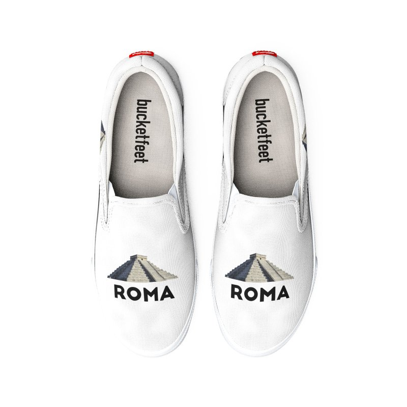 Mayan Pyramid of Rome Women's Shoes by MaroDek's Artist Shop
