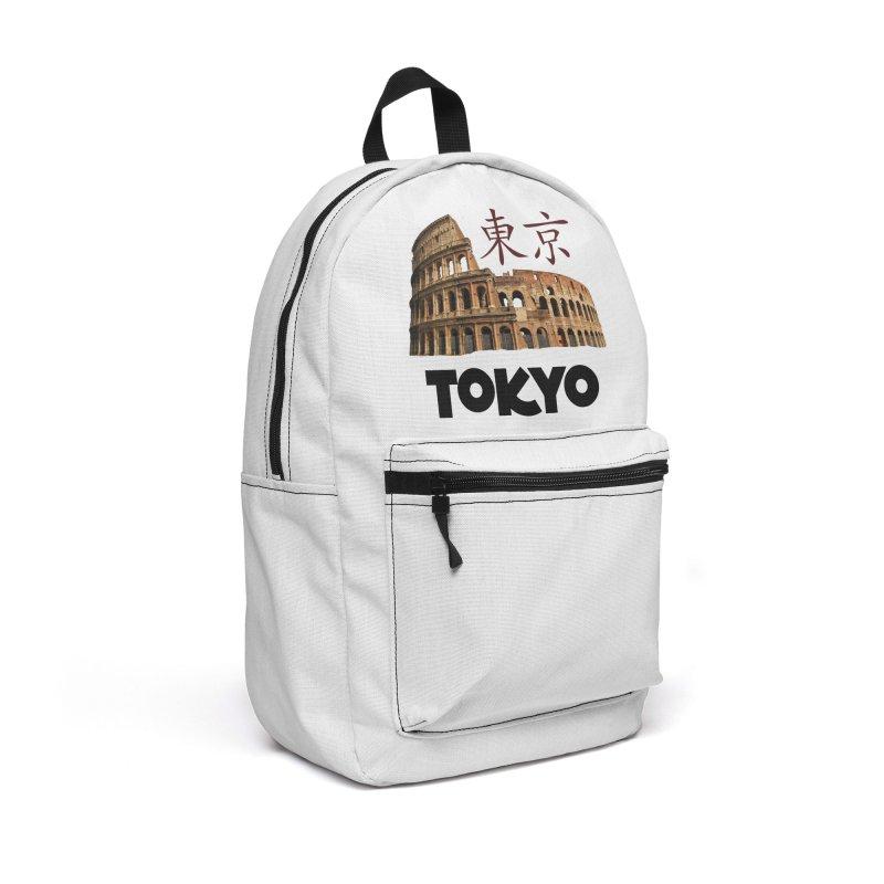 Tokyo Coliseum Accessories Bag by MaroDek's Artist Shop