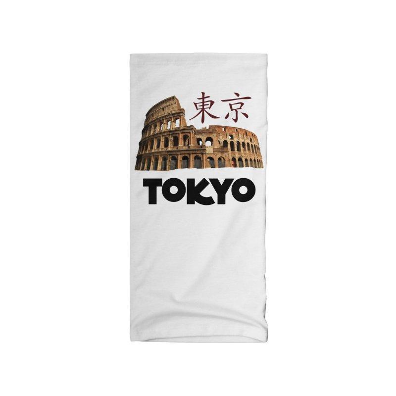 Tokyo Coliseum Accessories Neck Gaiter by MaroDek's Artist Shop