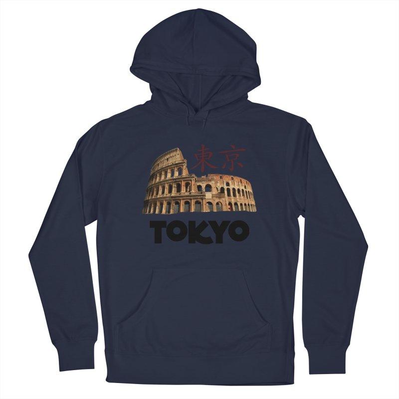 Tokyo Coliseum Men's Pullover Hoody by MaroDek's Artist Shop