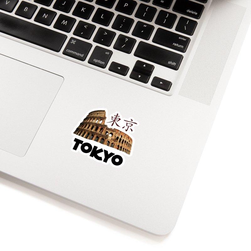 Tokyo Coliseum Accessories Sticker by MaroDek's Artist Shop