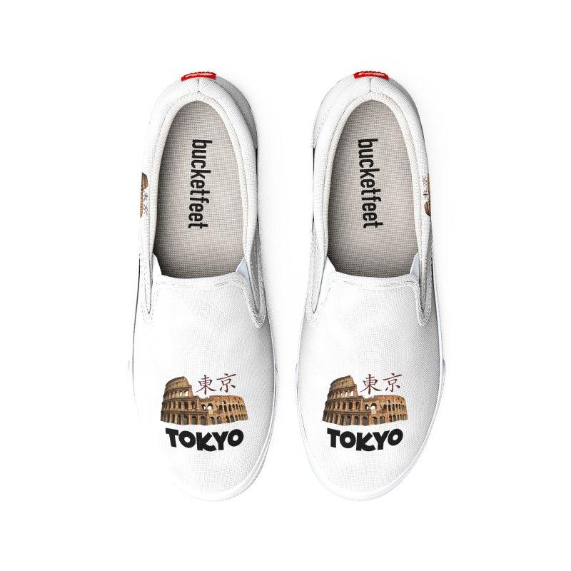 Tokyo Coliseum Men's Shoes by MaroDek's Artist Shop