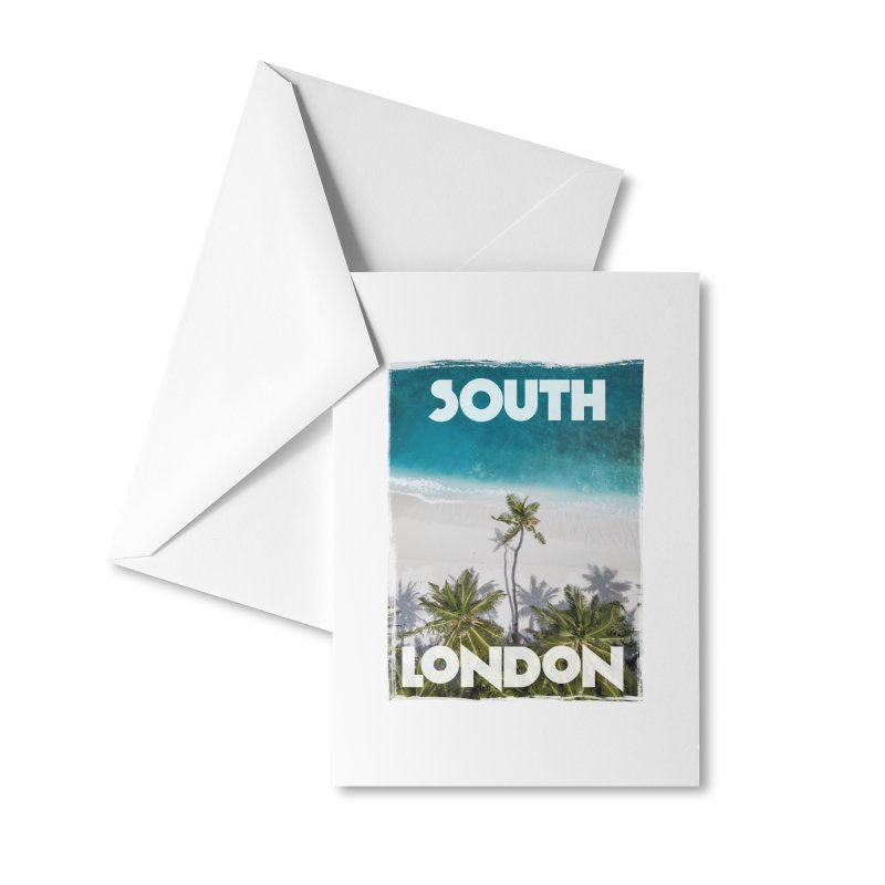 South London Accessories Greeting Card by MaroDek's Artist Shop