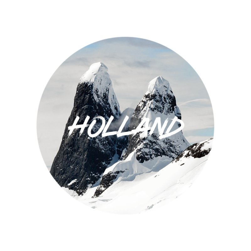 Holland Mountains Home Bath Mat by MaroDek's Artist Shop