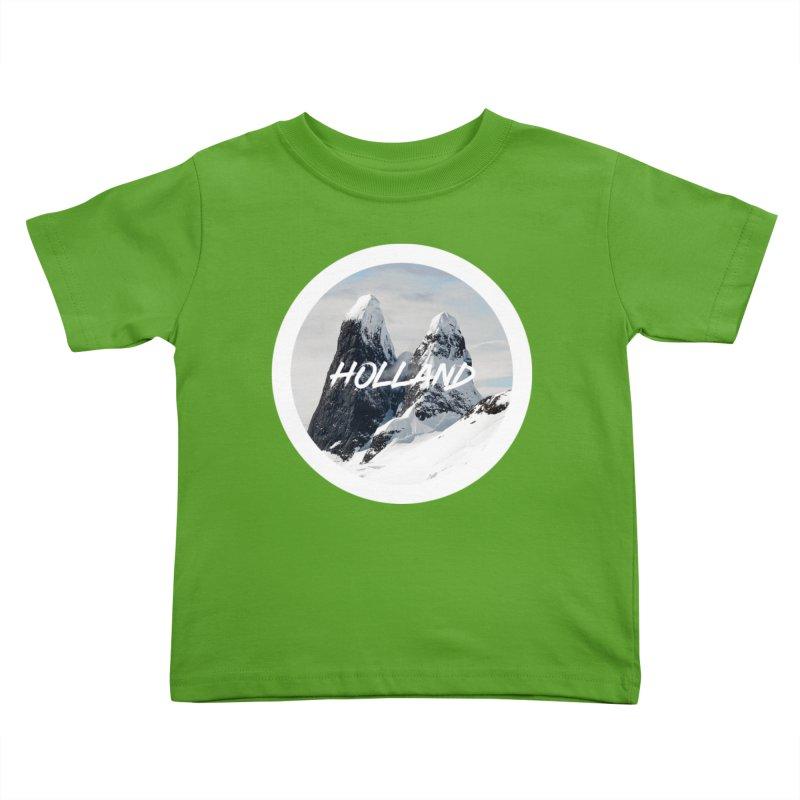 Holland Mountains Kids Toddler T-Shirt by MaroDek's Artist Shop