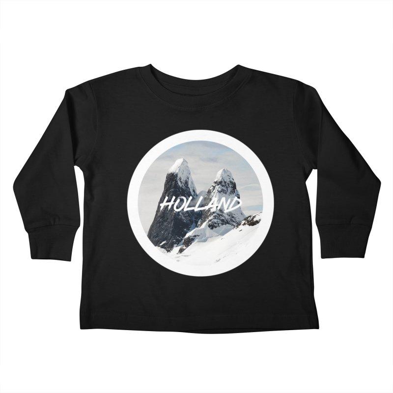Holland Mountains Kids Toddler Longsleeve T-Shirt by MaroDek's Artist Shop
