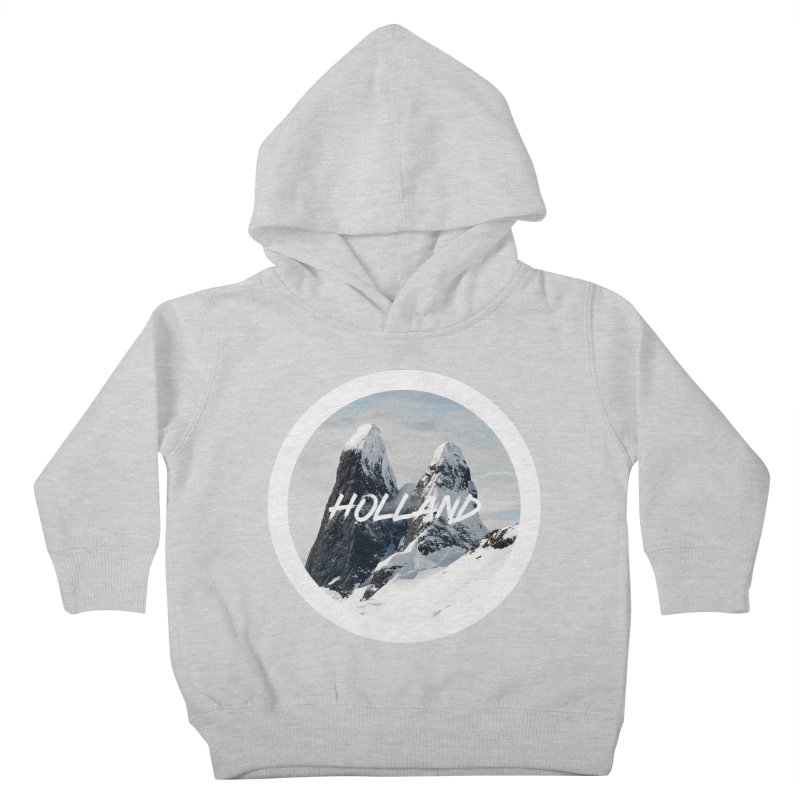 Holland Mountains Kids Toddler Pullover Hoody by MaroDek's Artist Shop