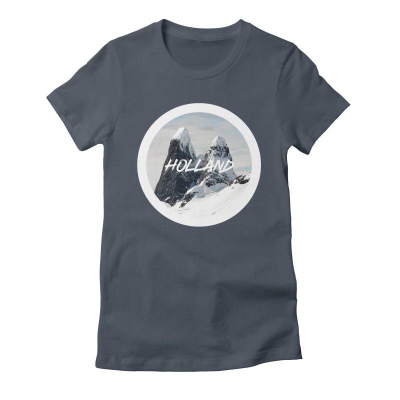 Holland Mountains Women's T-Shirt by MaroDek's Artist Shop