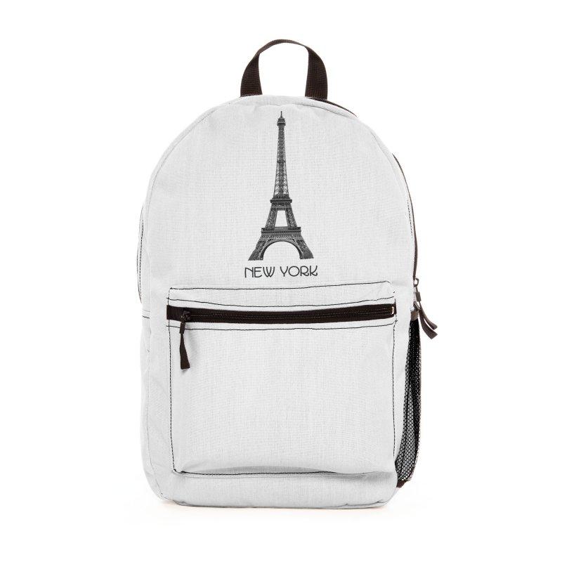 New York Eiffel Tower Accessories Bag by MaroDek's Artist Shop