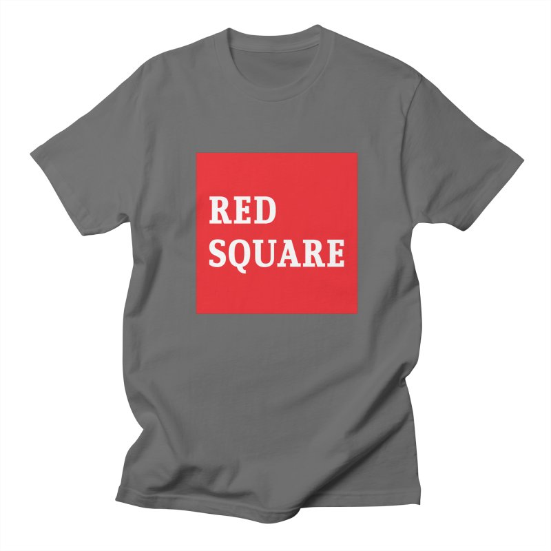Red Square Men's T-Shirt by MaroDek's Artist Shop