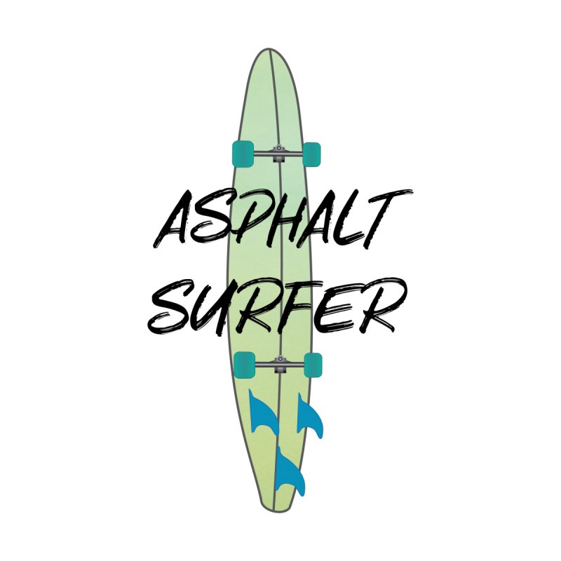 Asphalt Surfer 2 Surfboard Men's T-Shirt by MaroDek's Artist Shop