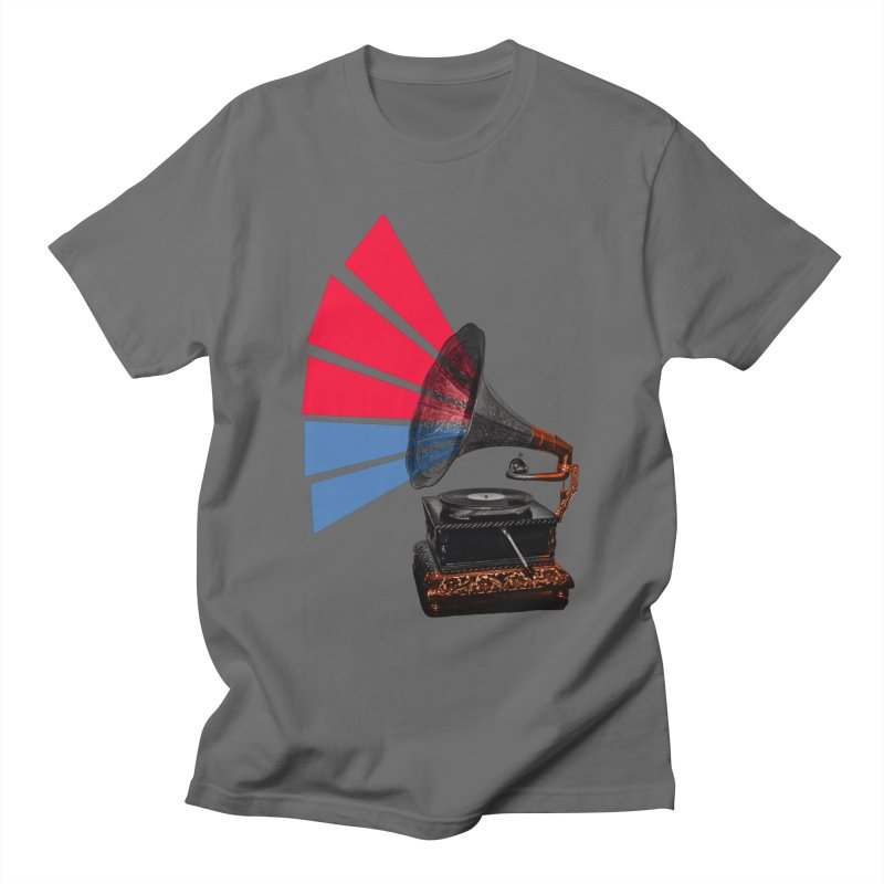 Colour Of Sound Men's T-Shirt by MaroDek's Artist Shop
