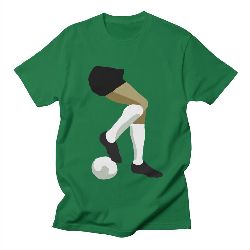 Football Drag Back Men's T-Shirt by MaroDek's Artist Shop