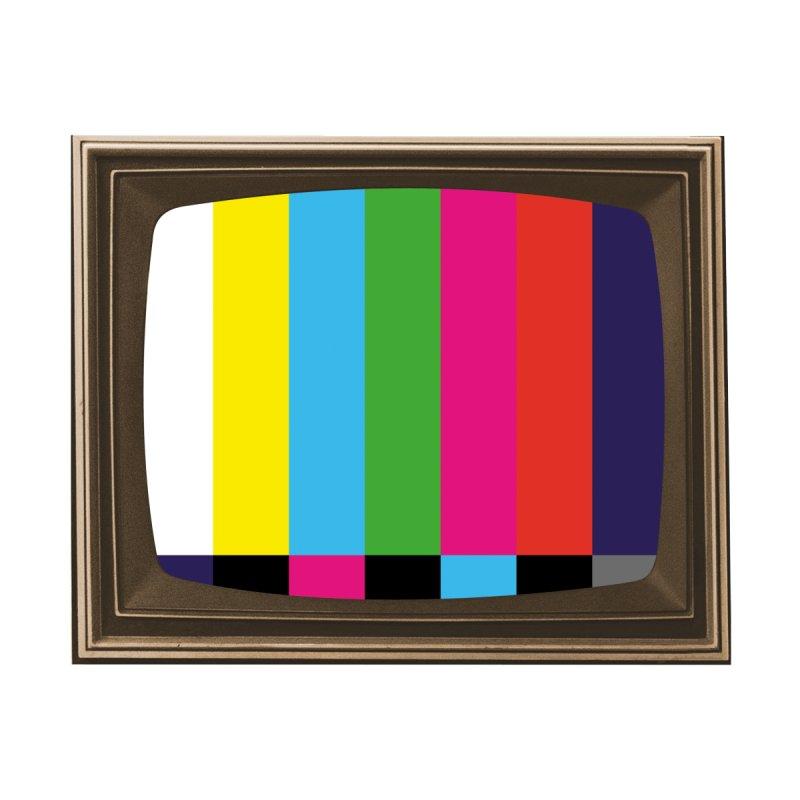 TV Color Bars Frame Men's T-Shirt by MaroDek's Artist Shop