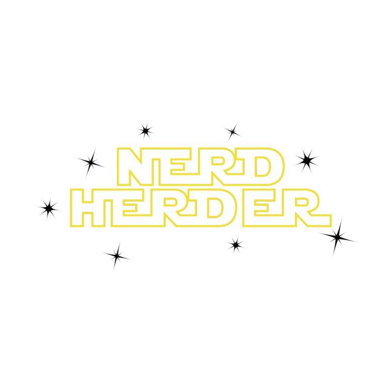 Starry Nerd Herder Women's Heavyweight Unisex T-Shirt by Nerd Herder Tee's Artist Shop