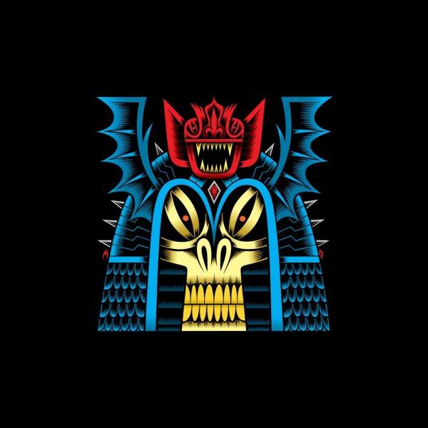 image for Ancient Bat Warrior pillow