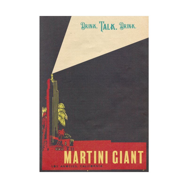 """MG ICON PRINT - """"Blue Night"""" Home Fine Art Print by Martini Giant's Store"""
