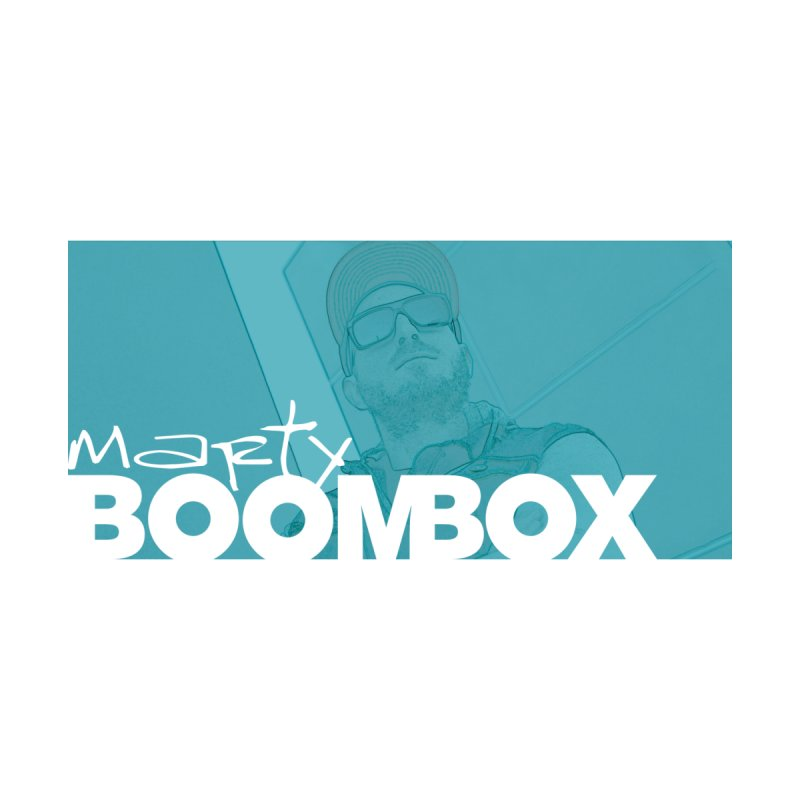 Marty Boombox Portrait Men's T-Shirt by Marty Boombox's Shop