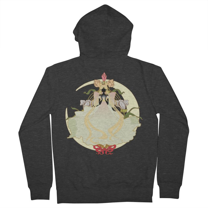 Serenity Nouveau Women's French Terry Zip-Up Hoody by MaruDashi's Artist Shop