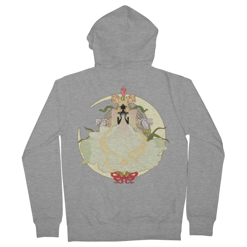 Serenity Nouveau Men's French Terry Zip-Up Hoody by MaruDashi's Artist Shop