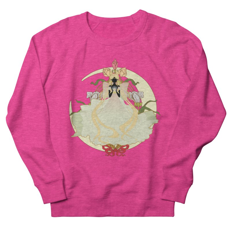 Serenity Nouveau Women's French Terry Sweatshirt by MaruDashi's Artist Shop