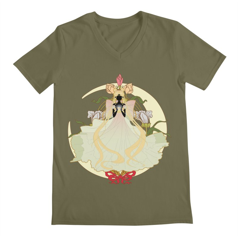 Serenity Nouveau Men's V-Neck by MaruDashi's Artist Shop