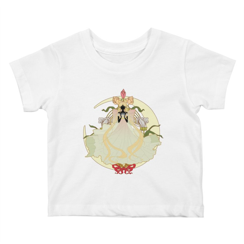 Serenity Nouveau Kids Baby T-Shirt by MaruDashi's Artist Shop