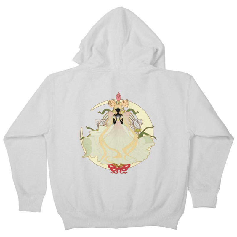Serenity Nouveau Kids Zip-Up Hoody by MaruDashi's Artist Shop
