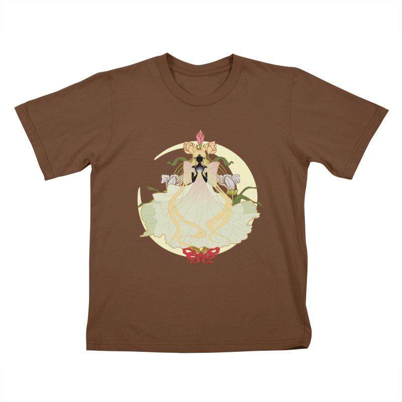 Serenity Nouveau Kids T-Shirt by MaruDashi's Artist Shop