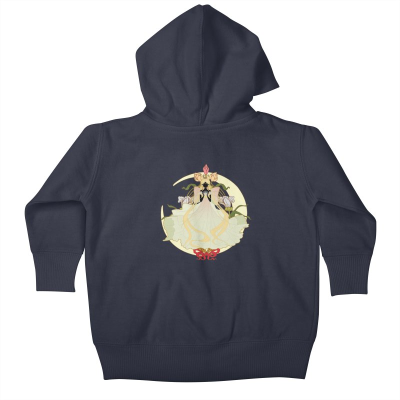 Serenity Nouveau Kids Baby Zip-Up Hoody by MaruDashi's Artist Shop