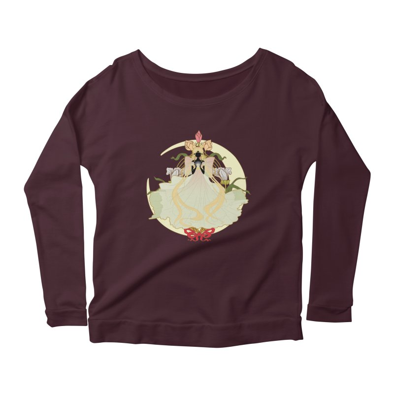 Serenity Nouveau Women's Scoop Neck Longsleeve T-Shirt by MaruDashi's Artist Shop