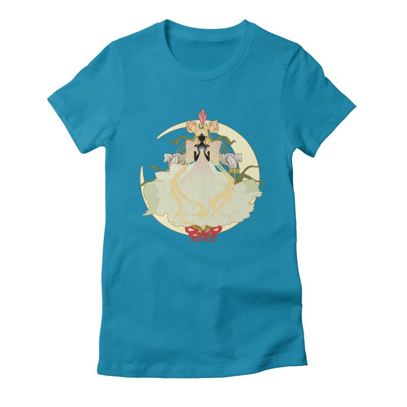 Serenity Nouveau Women's Fitted T-Shirt by MaruDashi's Artist Shop