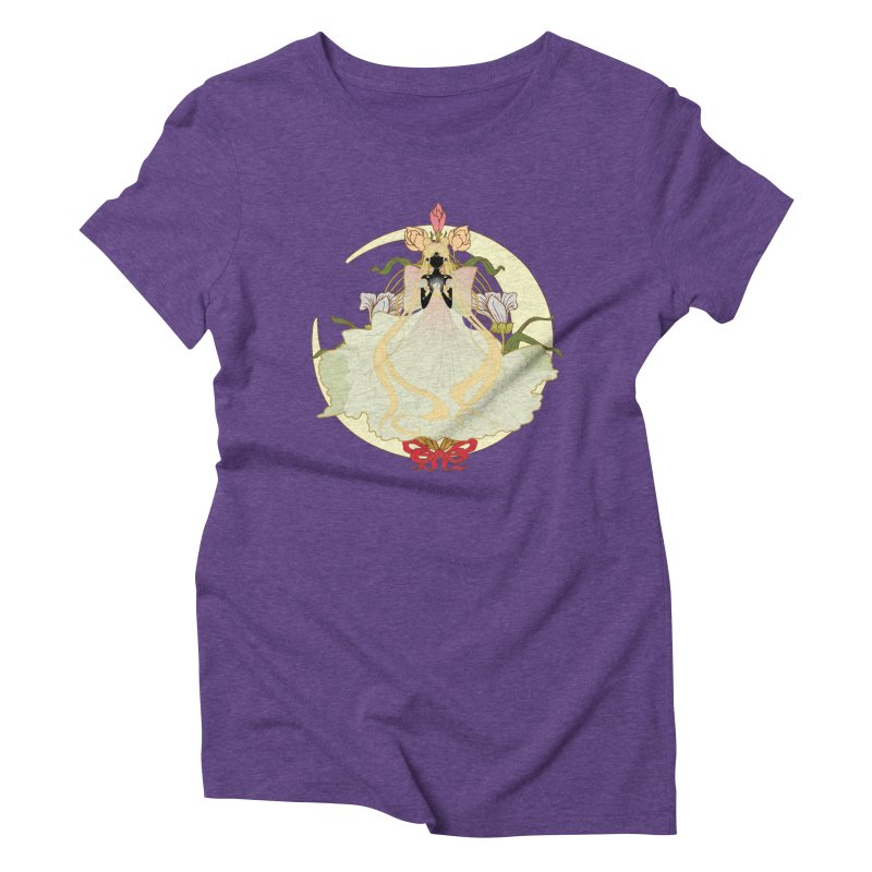 Serenity Nouveau Women's Triblend T-Shirt by MaruDashi's Artist Shop