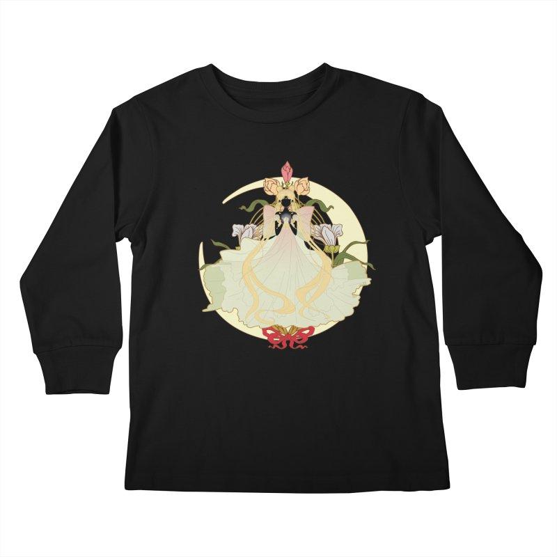 Serenity Nouveau Kids Longsleeve T-Shirt by MaruDashi's Artist Shop