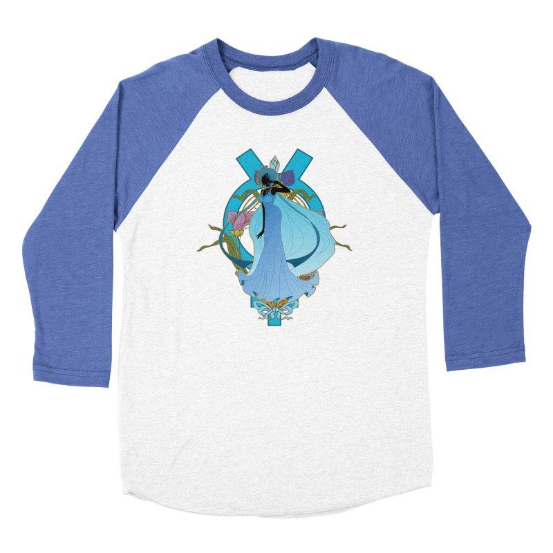 Princess Mercury Women's Baseball Triblend Longsleeve T-Shirt by MaruDashi's Artist Shop