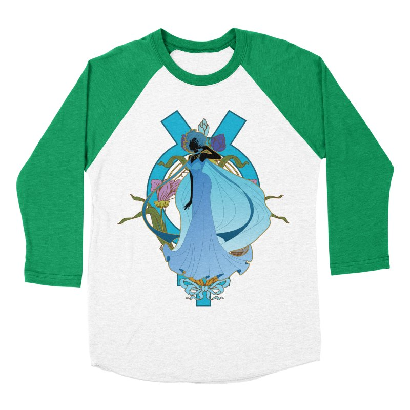 Princess Mercury Men's Baseball Triblend T-Shirt by MaruDashi's Artist Shop