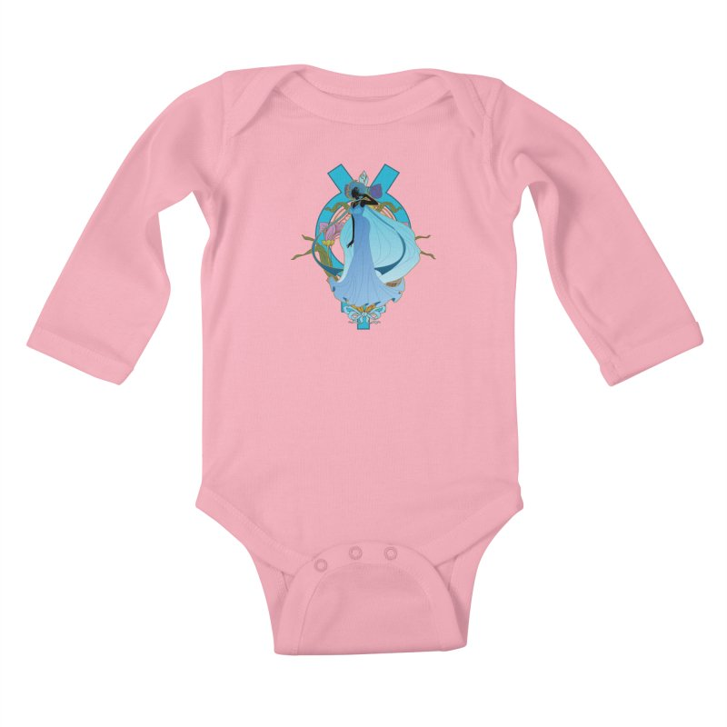 Princess Mercury Kids Baby Longsleeve Bodysuit by MaruDashi's Artist Shop