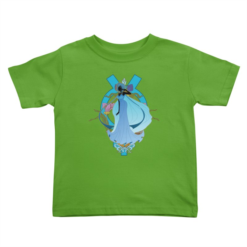 Princess Mercury Kids Toddler T-Shirt by MaruDashi's Artist Shop