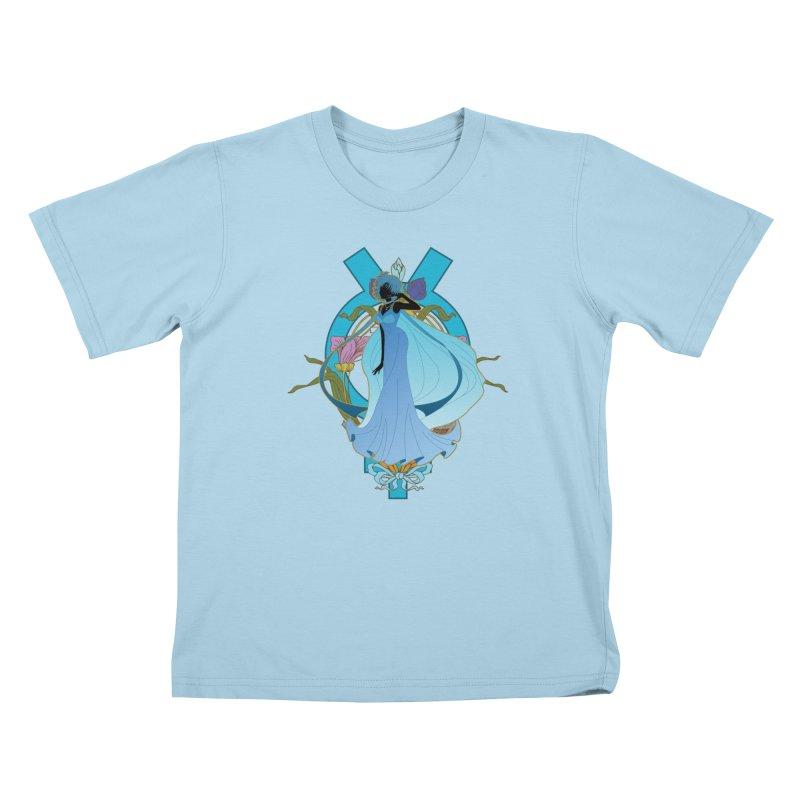 Princess Mercury Kids T-Shirt by MaruDashi's Artist Shop