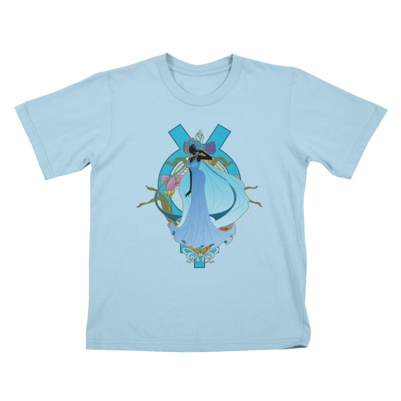 Princess Mercury Kids T-Shirt by MaruDashi's Artist Shop