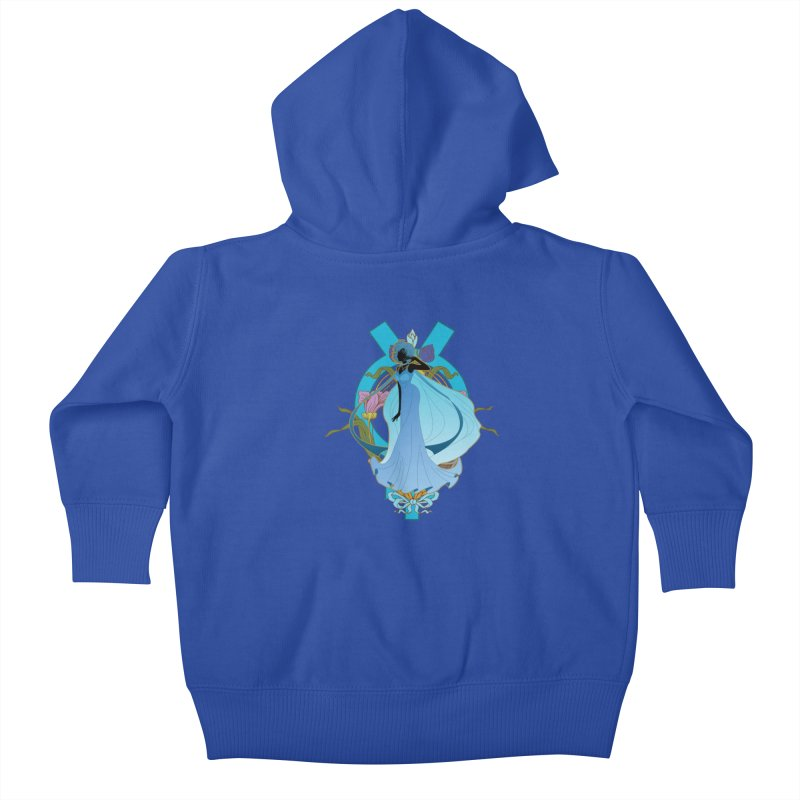Princess Mercury Kids Baby Zip-Up Hoody by MaruDashi's Artist Shop