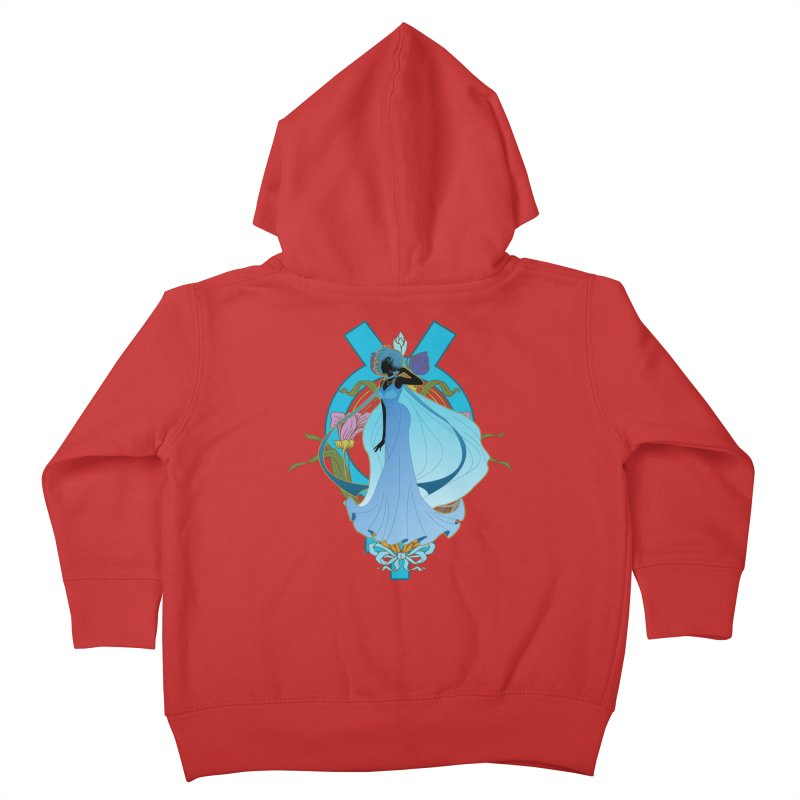 Princess Mercury Kids Toddler Zip-Up Hoody by MaruDashi's Artist Shop